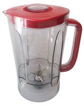 Copo original liquidificador philco ph900 / ph700 vermelho -