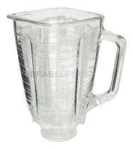 Copo Original Vidro Liquidificador Oster Quadrado -