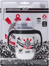 Copo para bebes antivazamento lolly corinthians -