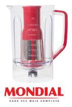 Copo Para Liquidificador Mondial L-1000 Vermelho Original -