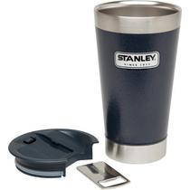 Copo Térmico De Cerveja Stanley 473 ml Com Tampa Azul -