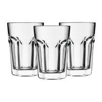 Copos 36 Unid Original Line Glass - Vidro Grosso Resistentes -