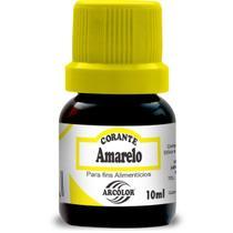 Corante Liquido Amarelo 10ML CX com 12 - GNA