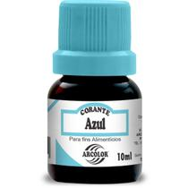 Corante Liquido AZUL 10ML CX com 12 - GNA