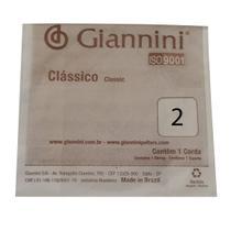 Corda Avulsa Giannini GENWPALM Segunda Si para Violão Nylon -