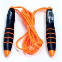 Corda de Pular com Contador Digital e Sistema de Rolamento - LIVEUP LS3142 -