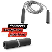 Corda de Pular JCV Rotativa + Colchonete - Cepall Fitness