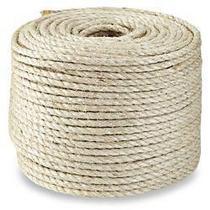 Corda de Sisal 10mm x 100 metros - SISALSUL - fibra natural Artesanato Macramê Arranhadores -