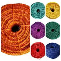 Corda de Sisal Colorida Kit Arco-íres 7 Rolos Com 50 Metros - Sisalândia
