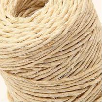 Corda de sisal fio barbante 300 metros arte convites - Sisalândia