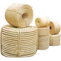 Corda de Sisal Natural trançada em 3 pernas Ideal Para Artesanato 6MM-50METROS - Brasfios