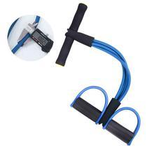 Corda Elastico extensor Academia Exercicio Abdominal Ginastica Alongamento Exercicios E Musculação - Mec