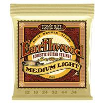 Corda Ernie Ball para Violao Aço Earthwood Medium Light 2003 -