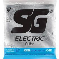 Corda Para Guitarra 009 Níquel Extra Light SG -