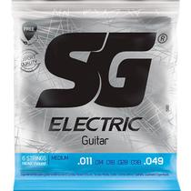 Corda Para Guitarra 011 Níquel Wound Medium SG -