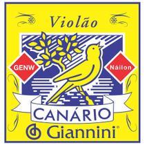 Corda para Violao Giannini GENW Canario Chenilha NYLON Medio - Gna