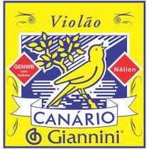 Corda para Violao Giannini GENWB Canario com Bolinha NYLON Media - Gna