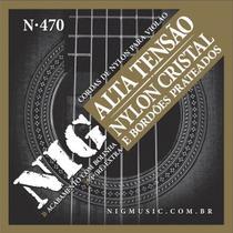Corda Para Violão Nig Nylon Tensão Alta N-470 -