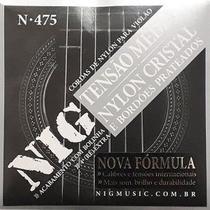 Corda Para Violão Nylon Tensão Media N-475 Nig -