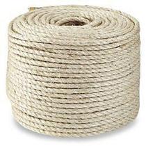 Corda Sisal 8mm x 100 metros - SISALSUL - Barbante fibra natural Artesanato Macramê Arranhadores -