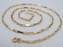 Cordão Corrente Cartier Grossa 60cm Ouro 18k 750 Maciça N - Total pratas