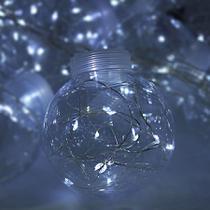 Cordão Varal De Led Decorativo Festa Decoração 10 Lâmpadas - Exclusivo