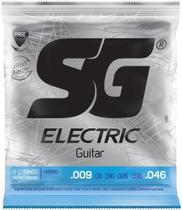 Cordas De Guitarra SG 09 046 Hybrid 5350 + Kit de Acessórios IZ1 -