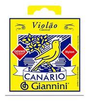 Cordas / Encordoamentos Violão Giannini Genwb Canário Nylon -