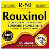 Cordas Para Violão de Aço Rouxinol R-50 -