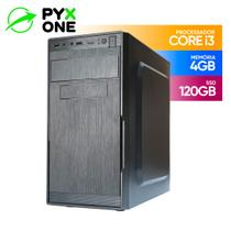 Core I3 Desktop Pyx One 4gb Ssd 120gb 10x + Rápido