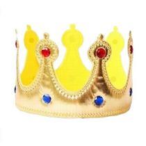 Coroa de Rei de Tecido - Bazar