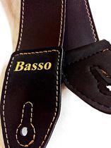 Correia Para Guitarra ou Violão Marron SF-112 Basso -