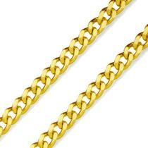 Corrente de Ouro 18k Groumet 2,4mm com 60cm co01062 - Joiasgold