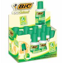 Corretivo liquido base agua 18ml eco / 12un / bic -