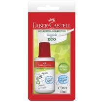 Corretivo Líquido Eco a Base de Água 18ml Faber-Castell Blister c/ 1 -