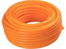 Corrugado reforçado 1 2 em termoplastico com diametro nominal 20 50 metros laranja tramontina -