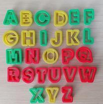 Cortador Alfabeto Letras M Para Confeitaria E Biscuit - Leb Decorações
