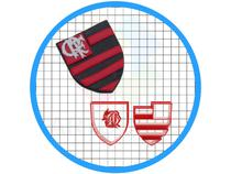 Cortador De Biscoito Escudo Do Flamengo - ARTBOX3D