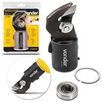 Cortador de Chapas de Aço Vonder CC025 43 mm Aço Carbono Preto e Amarelo Adaptador Rolamentado -