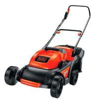 Cortador de grama elétrico Black+Decker GR3800 com cesto recolhedor 1600W laranja e preto 110v - Black & Decker