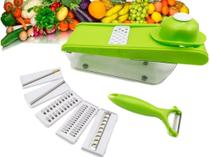Cortador De Legumes Fatiador Ralador Multiuso Picador 6 em 1 - Meileyi
