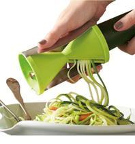 Cortador De Vegetais Legumes em Espaguete Espiral - Asia golden -