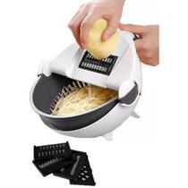 Cortador e Escorredor Multifuncional Cozinha Ralador Legumes 7 Em 1 - --