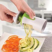 Cortador e Fatiador de Legumes e Vegetais Espiral em Aço Inox - Mimo Style