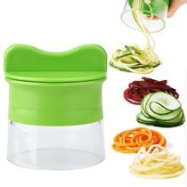 Cortador e Fatiador Manual de Legumes e Vegetais em Espiral - Clink