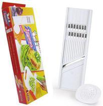 Cortador e Ralador Plástico Para Legumes Lamina Inox CR01 Keita -