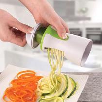 Cortador Espaguete Legumes Ralador Espiral Macarrão Abobrinha - Penselar Fun