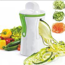 Cortador Espiral de Legumes e Vegetais - Turquesa Presentes