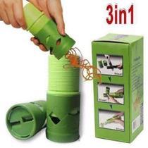Cortador Espiral Verduras Legumes Fatiador Descascador -