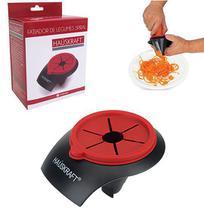 Cortador / fatiador de legumes espiral de inox / plastico 11,5x7cm na caixa - Western